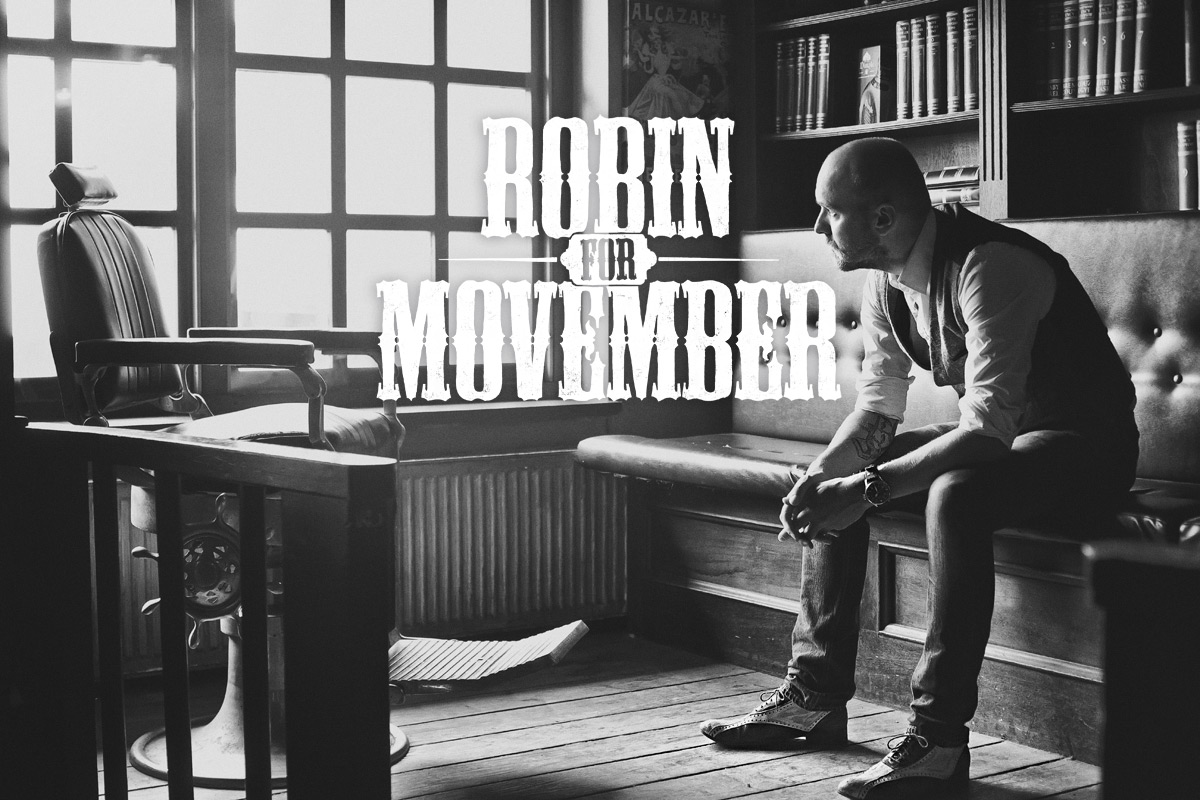 Robin For Movember